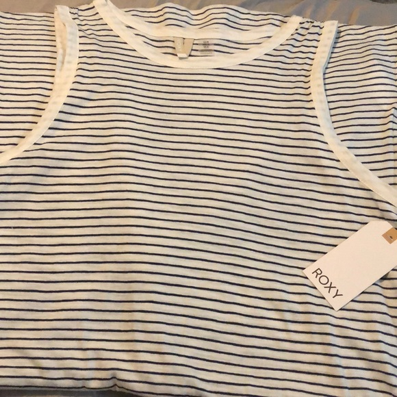 1ce90a36157 NWT Roxy Love Sun Tank Dress Stripes